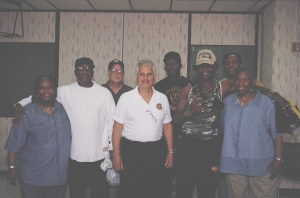 NMIAI Jun 09 Graduation: Myra Shell, Ben Brown, Andy, Bob Geronimo, Ernest Green, Steven Jackson, Garyson Ford, Ms Shell's Aunt