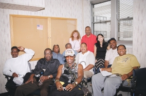 NMIAI Jun 09 Graduation, Veterans with Elaine our Instructor and Ritchie our VA Voc Rehab Counselor.