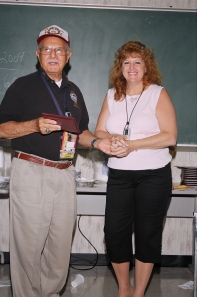 NMIAI Jun 09 Graduation: Anthony Vanacore and Elaine Preto.