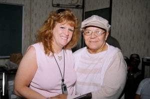 NMIAI Jun 09 Graduation: Elaine Preto with Anna Thomas, our Korean War Veteran.